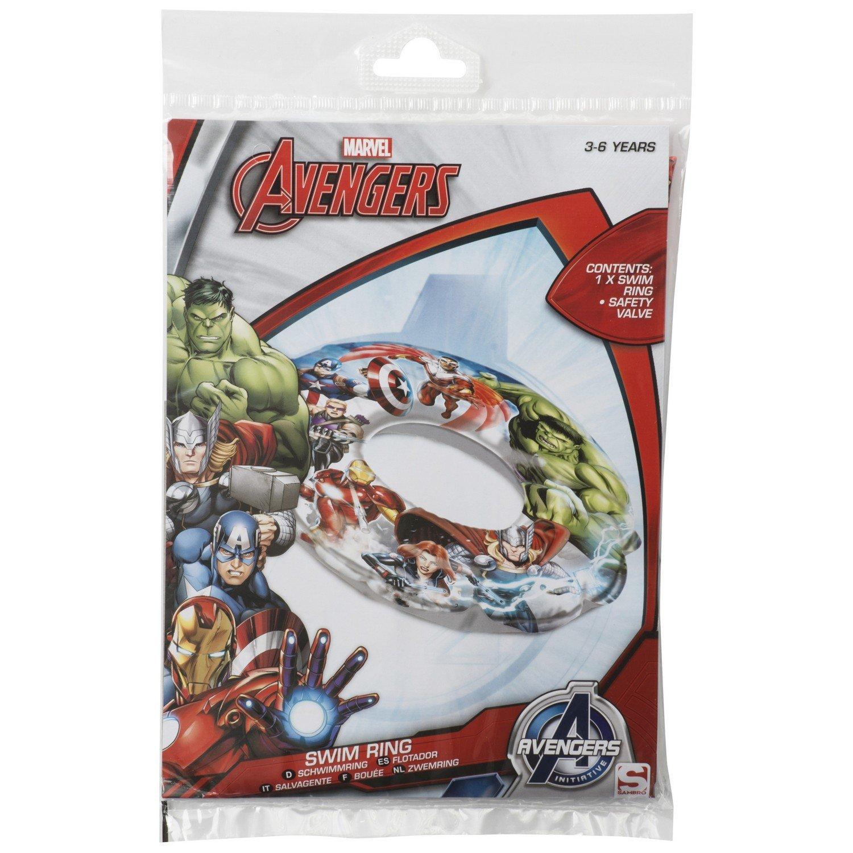 Sambros AVE-7056 Avengers Swim Anillo en bolsa: Amazon.es: Juguetes y juegos