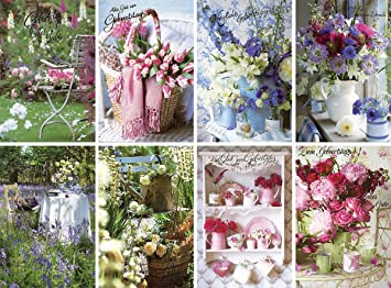 50 Geburtstagskarten Blumenstrauss Grusskarten Zum Geburtstag