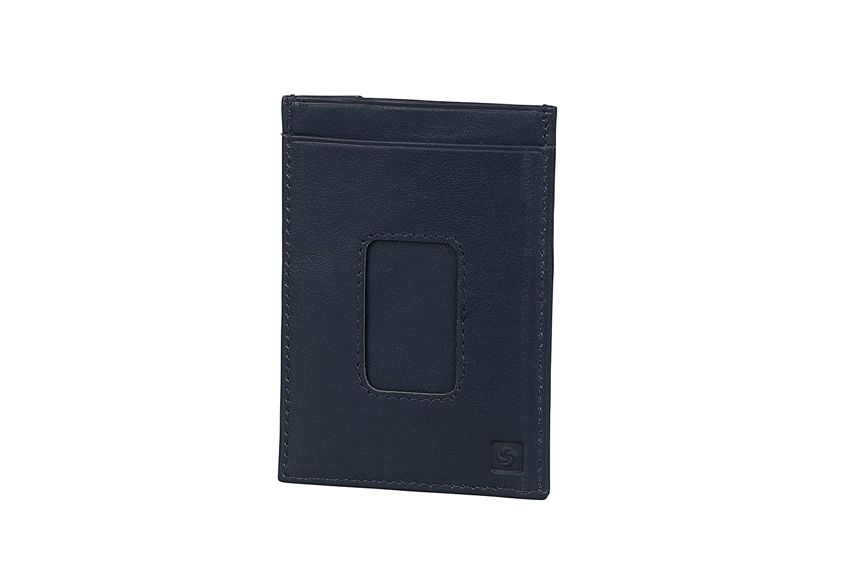 Billfold for 8 Creditcards Spectrolite SLG Bleu 2 Compartments Porte-Carte de cr/édit 13 cm Night Blue//Black 0 liters
