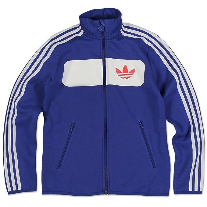 Adidas J Street Buzo T G69810 Niños Sudadera Moda - algodón, azul, 70% algodón 30% poliéster, niños, 11-12 Años: Amazon.es: Ropa y accesorios