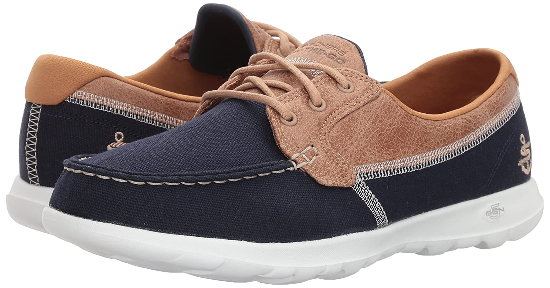 Skechers Damen Go Walk Lite-Coral Lite-Coral Walk Stiefelchuhe Blau (Navy) 9f5fd1