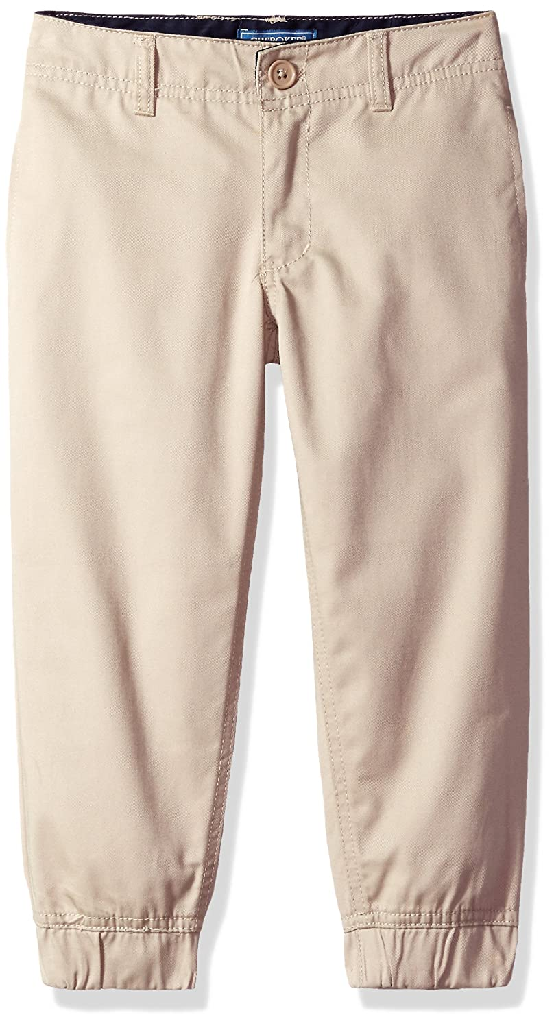 CHEROKEE Boys' Uniform Twill Jogger Pant with Adjustable Waist CHEROKEE girls 37P2859