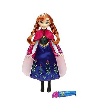 Disney Frozen - Muñeca Anna con capa mágica (Hasbro B6701ES0) pwWRIzvd5r