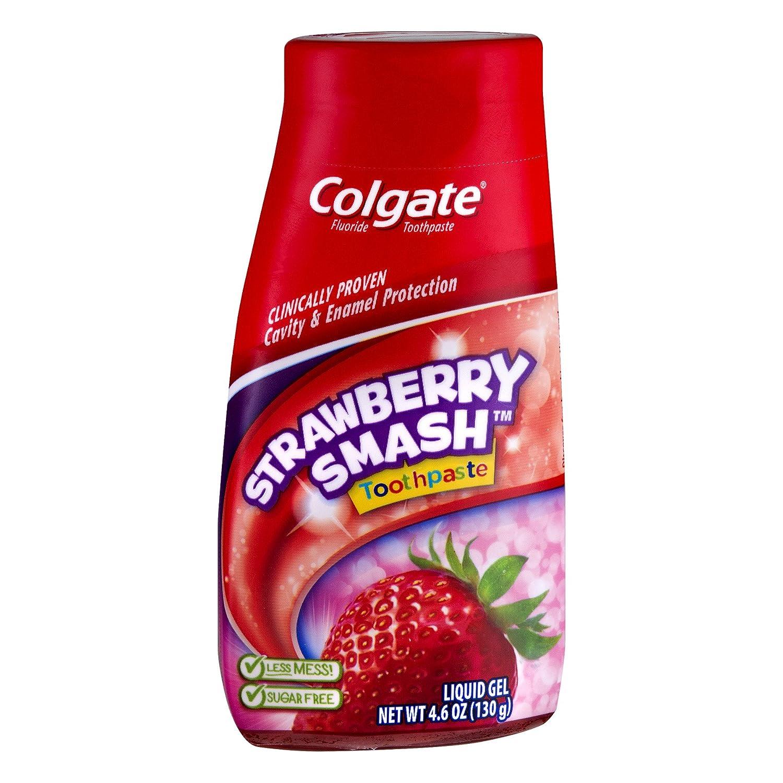 Colgate 2 In 1 Kids Toothpaste Strawberry Flavor 4.6 Oz KC009136
