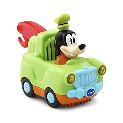 VTech Go! Go! Smart Wheels - Disney Goofy Tow Truck: Toys & Games