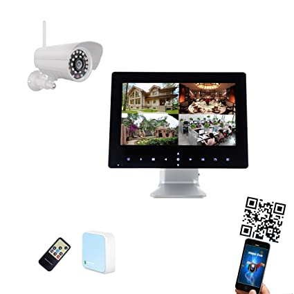 9 pulgadas Half Touch Monitor 720P HD Wifi Radio Sistema de Video Vigilancia Tiempo real,