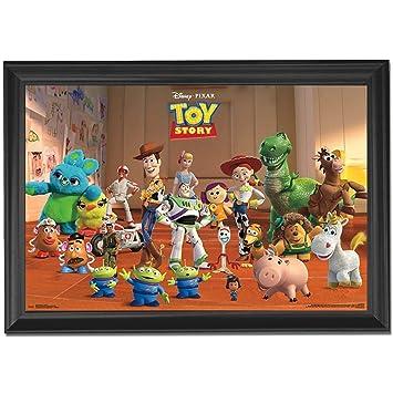 Disney Pixar Toy Story Wall Art Decor Framed Print