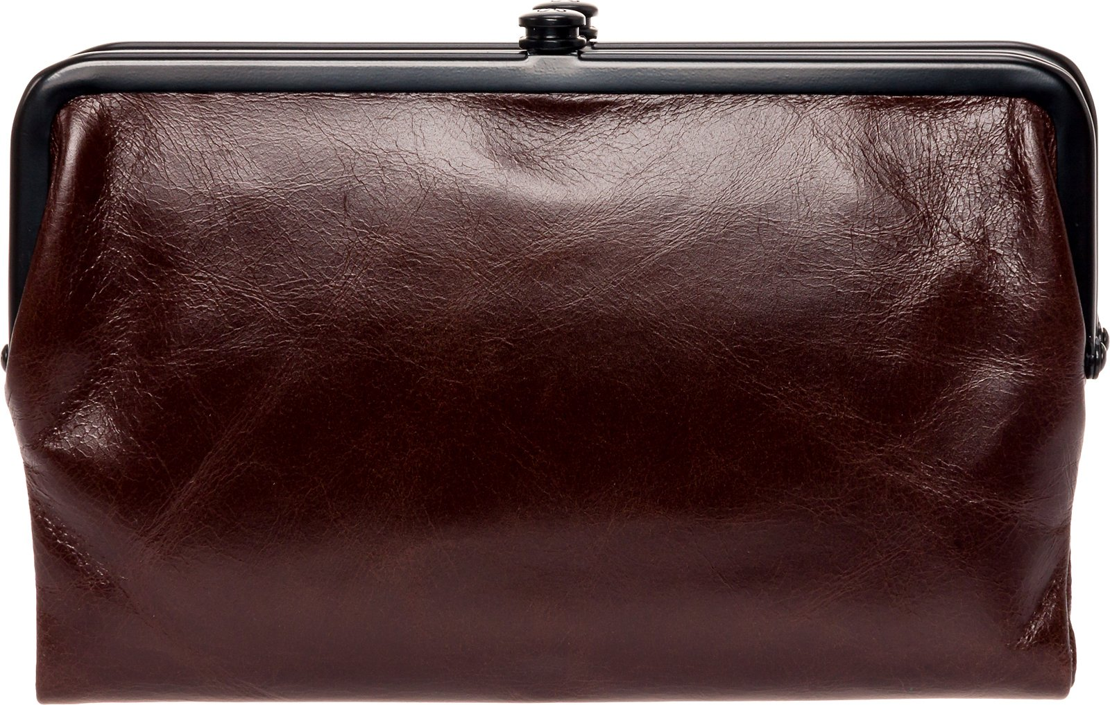Hobo Womens Glory Vintage Leather Clutch Wallet (Espresso)