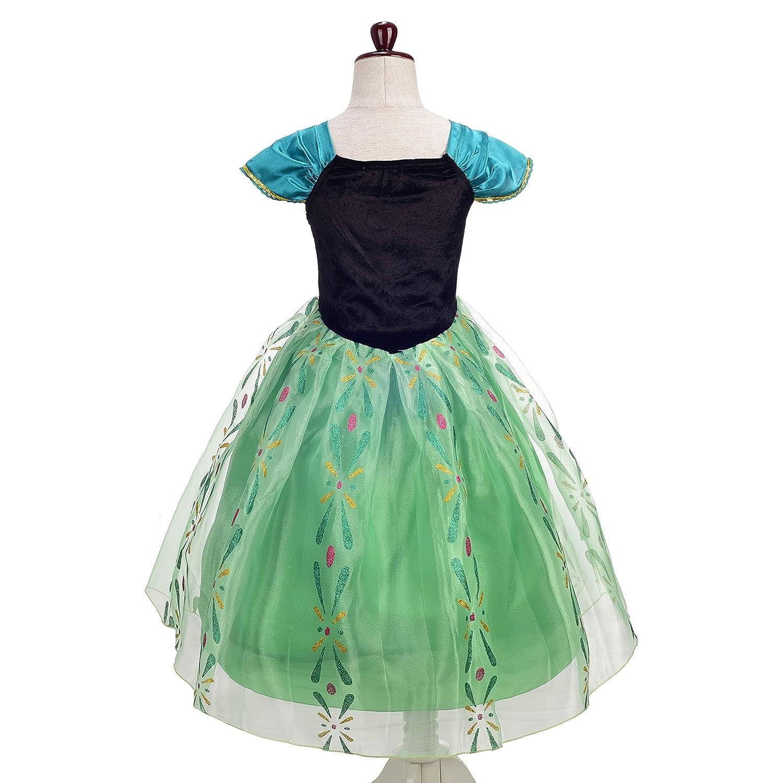 Amazon.com: Disfraz de princesa Anna de margarita con ...