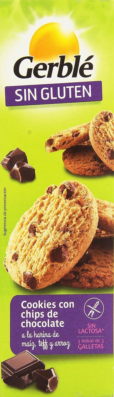 Gerblé sin Gluten Cookies Con Chips De Chocolate A La Harina De Maíz, Teff Y Arroz - 150 gr