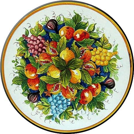 Tavoli Da Giardino Pietra Lavica.Ceramiche Artigiane D Epoca Tavolo Da Giardino In Pietra Lavica