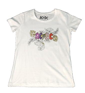 cc96a469e ACDC Camiseta de Manga Corta para Niña Cuello Redondo Tshirt Casual   Amazon.es  Ropa y accesorios