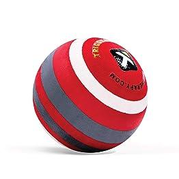 【日本正規品 1年保証】 トリガーポイント(TRIGGERPOINT) マッサージボール MB-X 硬質モデル 筋膜リリース 直径6.5cm レッド 04421