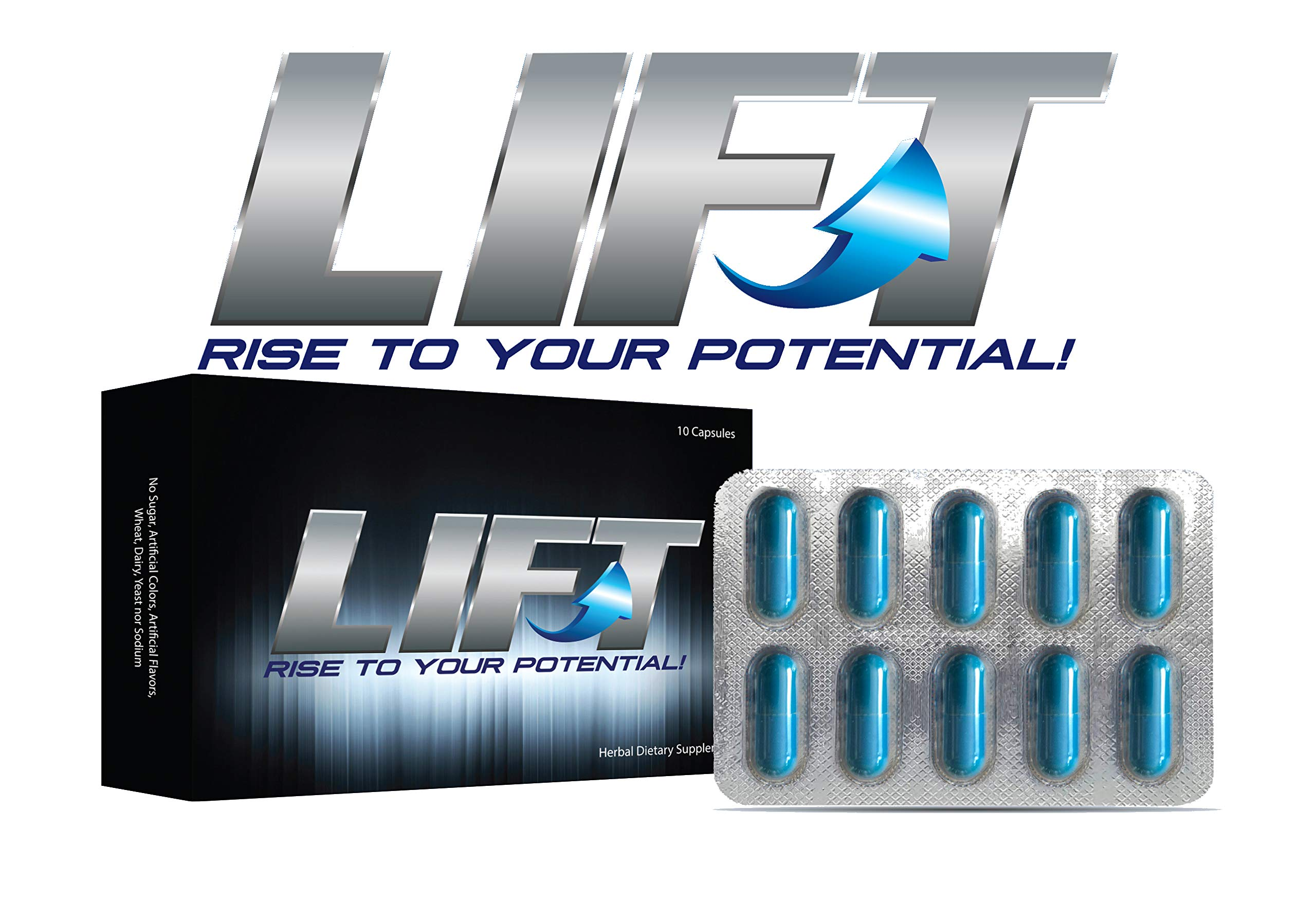 LIFT ~ Rise to Your Potential! Amplify Your Recovery, Endurance and Energy Naturally!