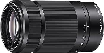 Sony E 55-210mm F4.5-6.3 Lens for E-Mount Cameras (Black) + $50 GC