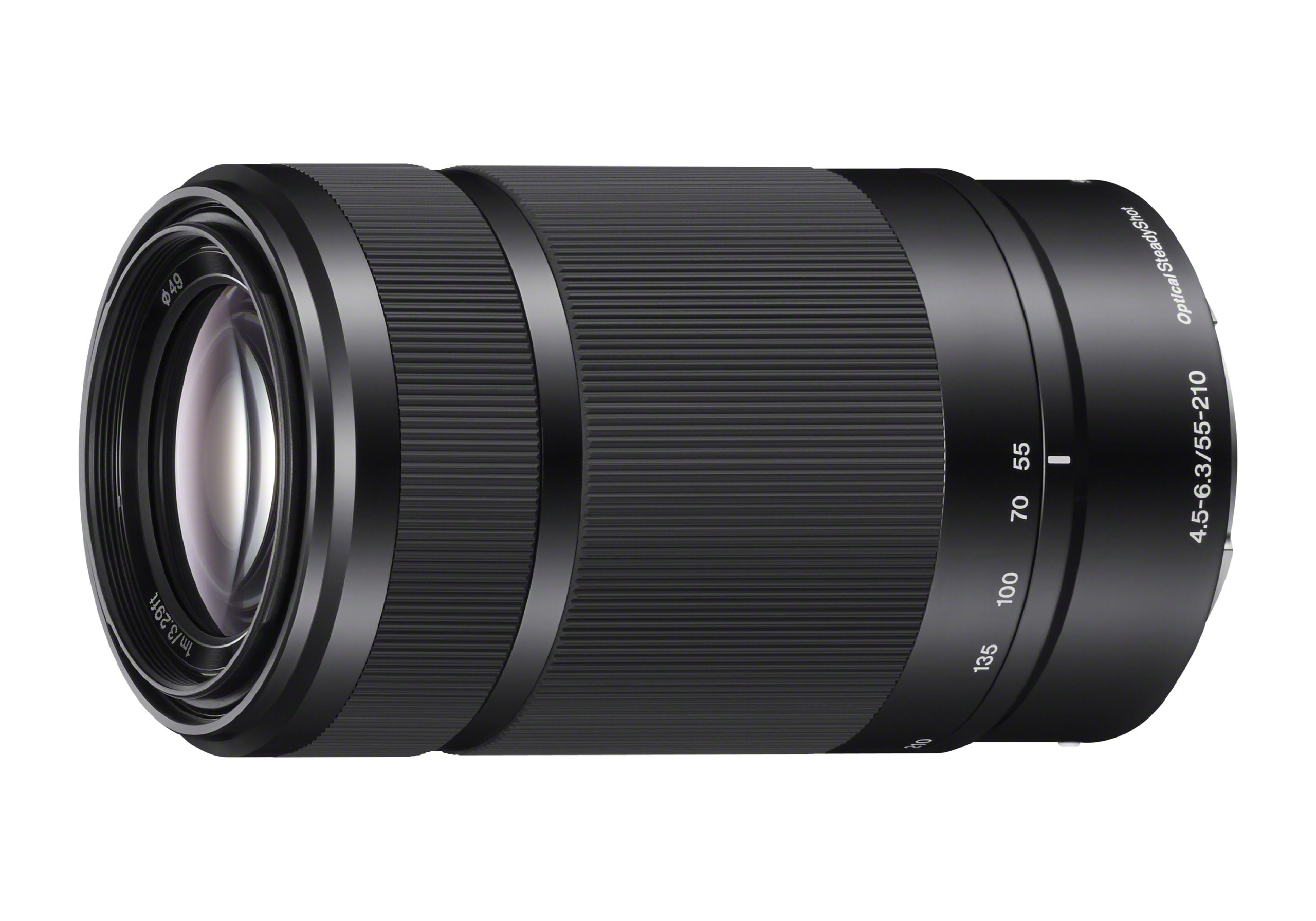 Sony E 55-210mm F4.5-6.3 Lens for Sony E-Mount Cameras (Black) by Sony (Image #1)
