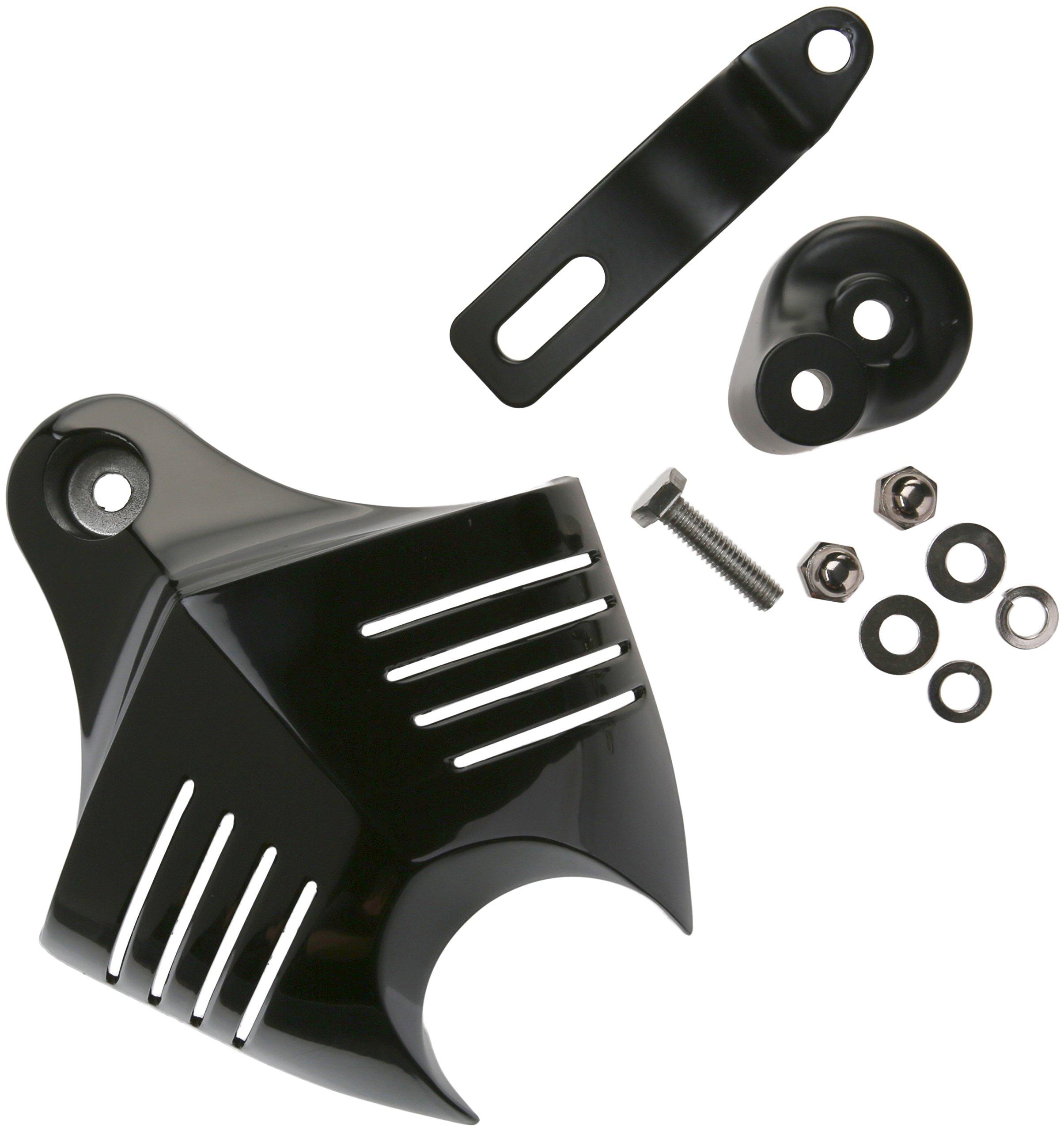 Kuryakyn 7204 Black V-Shield Horn Cover