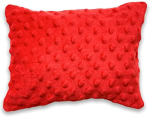 Microwavable Buckwheat Heating Pad- Hot and Cold Therapy Pillow- Microwave Heatable Neck Wrap- Cooling and Heating Pads for Back Pain, Joint, Shoulder, Cramps, Muscle Soreness & Menstrual Pain Relief