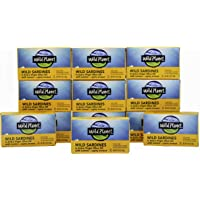 Deals on 12 Pack Wild Planet Wild Sardines in Extra Virgin Olive Oil 4.4 Oz