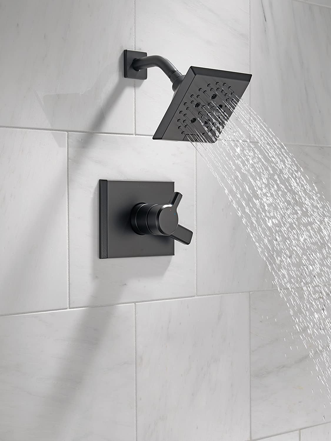 Polished Nickel Delta Faucet T17299-PN Pivotal Monitor 17 Series Shower Trim