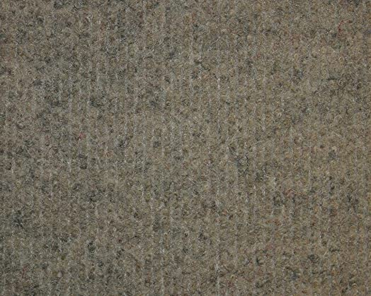 Koeckritz 3 x5 Oval Rock Brown Indoor-Outdoor 3 16 Thick Area Rug with Light Weight Latex Backing