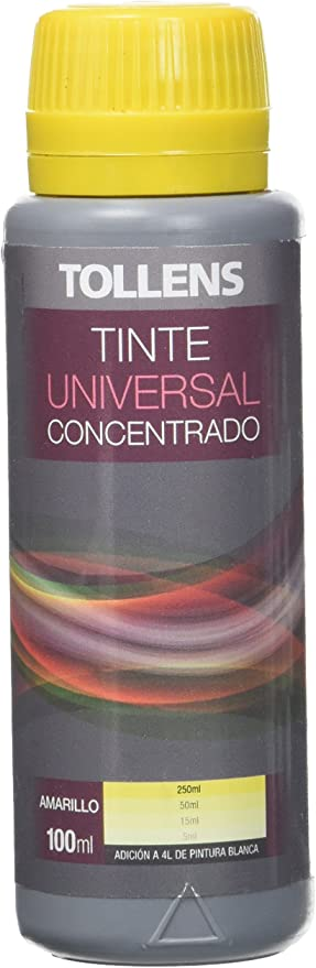 Tollens 8600 Tinte Universal, Amarillo, 100 ml