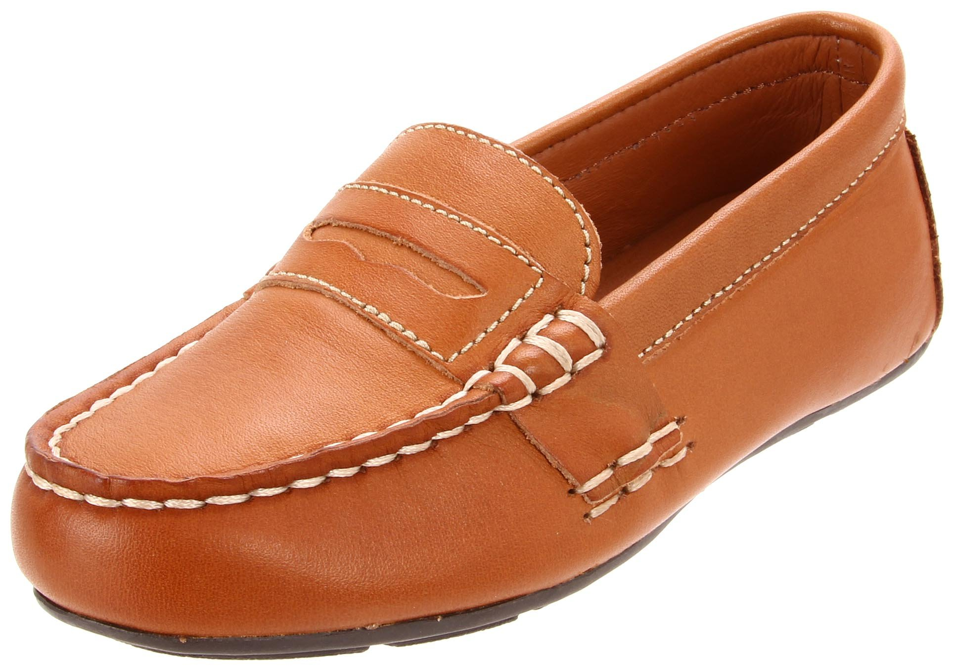Polo by Ralph Lauren Telly Slip-On (Toddler/Little Kid/Big Kid),Tan,2.5 M US Little Kid