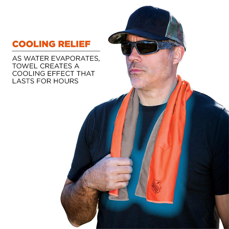 Ergodyne Chill Its 6602MF Cooling Towel UPF 50+ Soft Microfiber Material