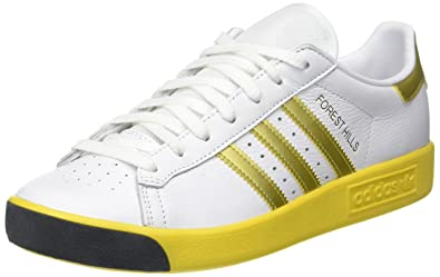 super popular 0a525 d8cf7 adidas Forest Hills, Sneakers Basses Homme, Blanc (Footwear WhiteGold  Metallic