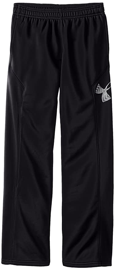 130c2280f23f Amazon.com  Under Armour Boys  Storm Armour Fleece Big Logo Pants ...