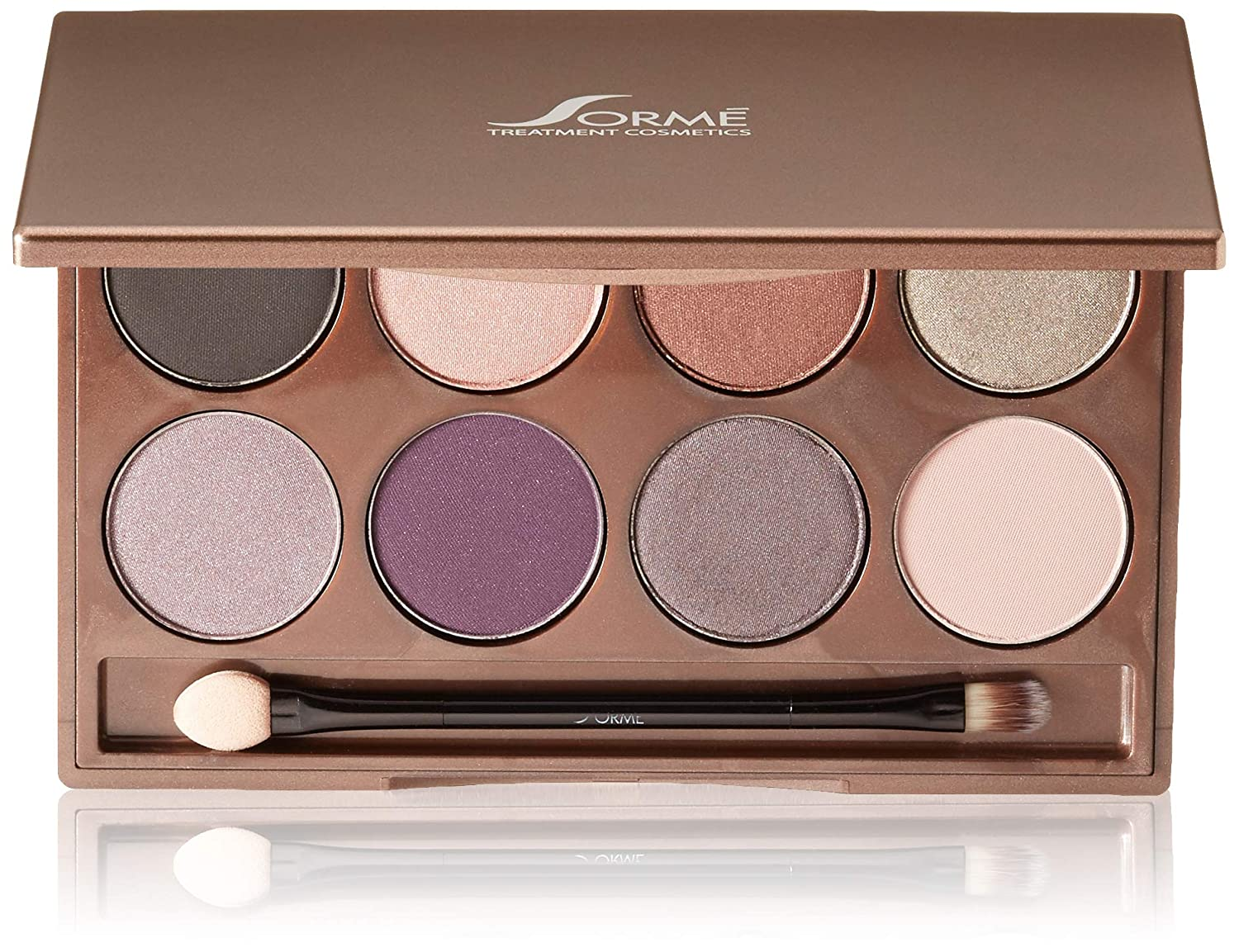 Sorme Cosmetics Collection Eyeshadow Palette, Cool Hues, 0.64 Ounce