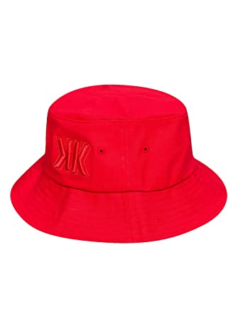 88a42cc6059eb Karl Kani Men Accessories Hat Zaurak Bucket red one Size  Amazon.co.uk   Clothing