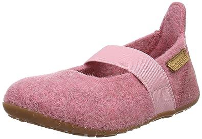 Bisgaard Mädchen Wool Ballet Slipper, Pink (91 Rosa), 31 EU