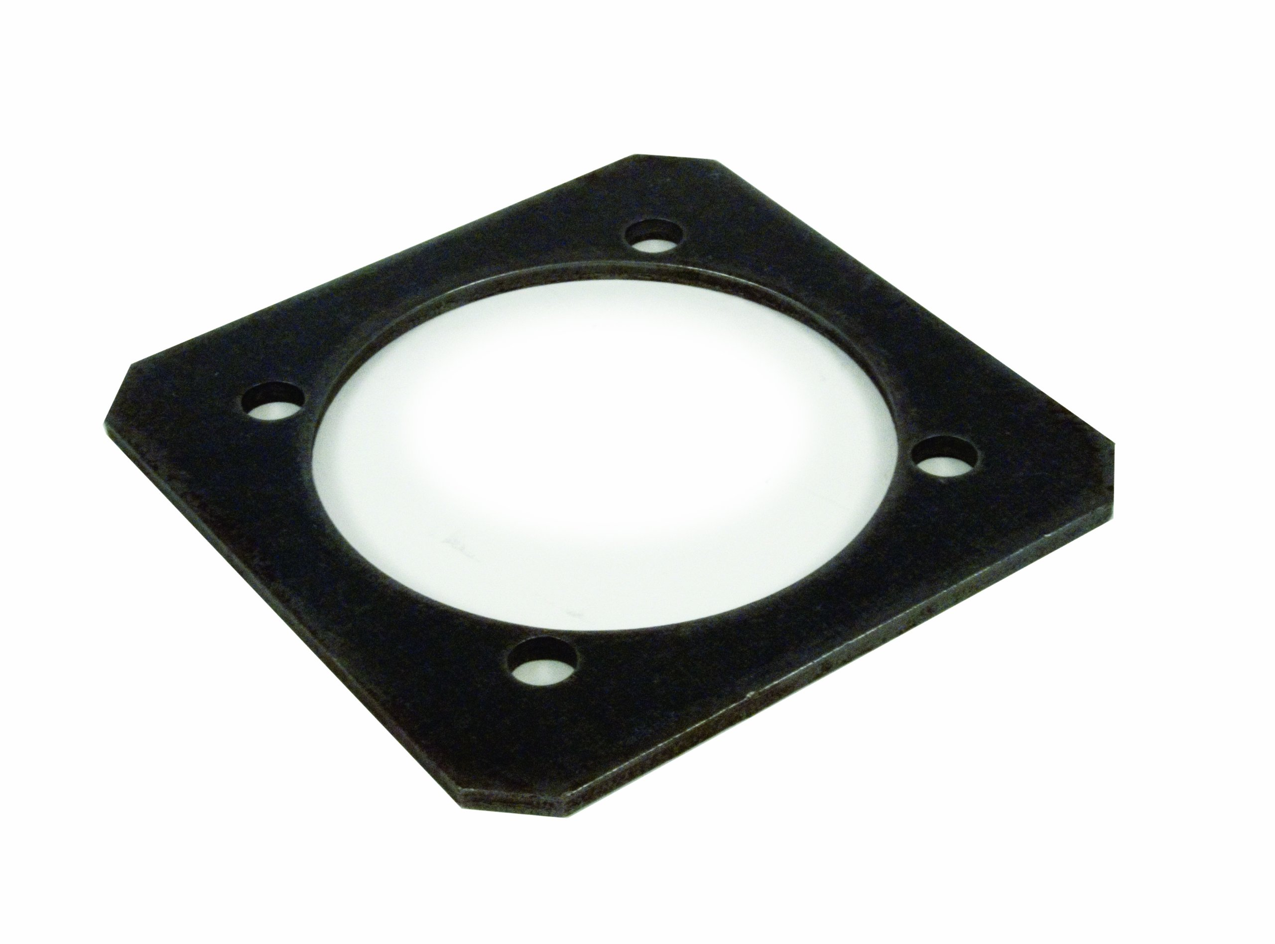 Mac's Tie Downs 472006 Steel Backing Plate for Swivel D-Ring