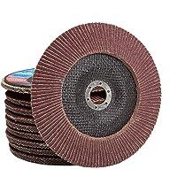10 st. Set 125 mm P40 lamellenschijf Flap Disk voor haakse slijper slijpschijf slijpschijf