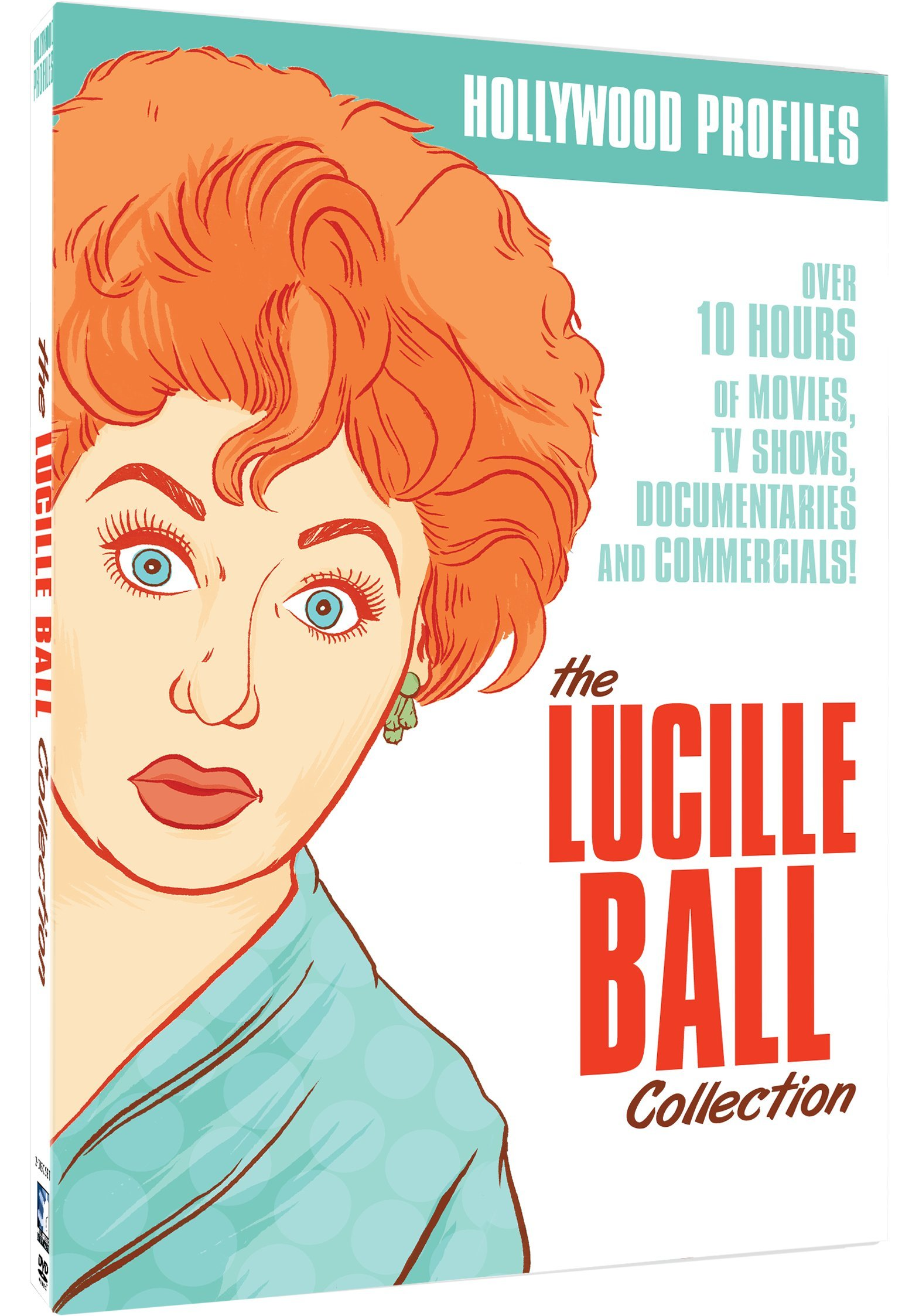 DVD : Hollywood Profile - Lucille Ball (2 Pack, 2 Disc)