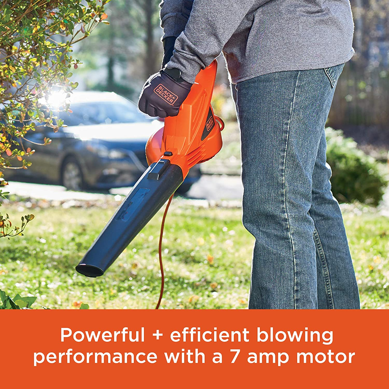 Electric Leaf Blower 7 AMP Sweep Lawn Yard Power All