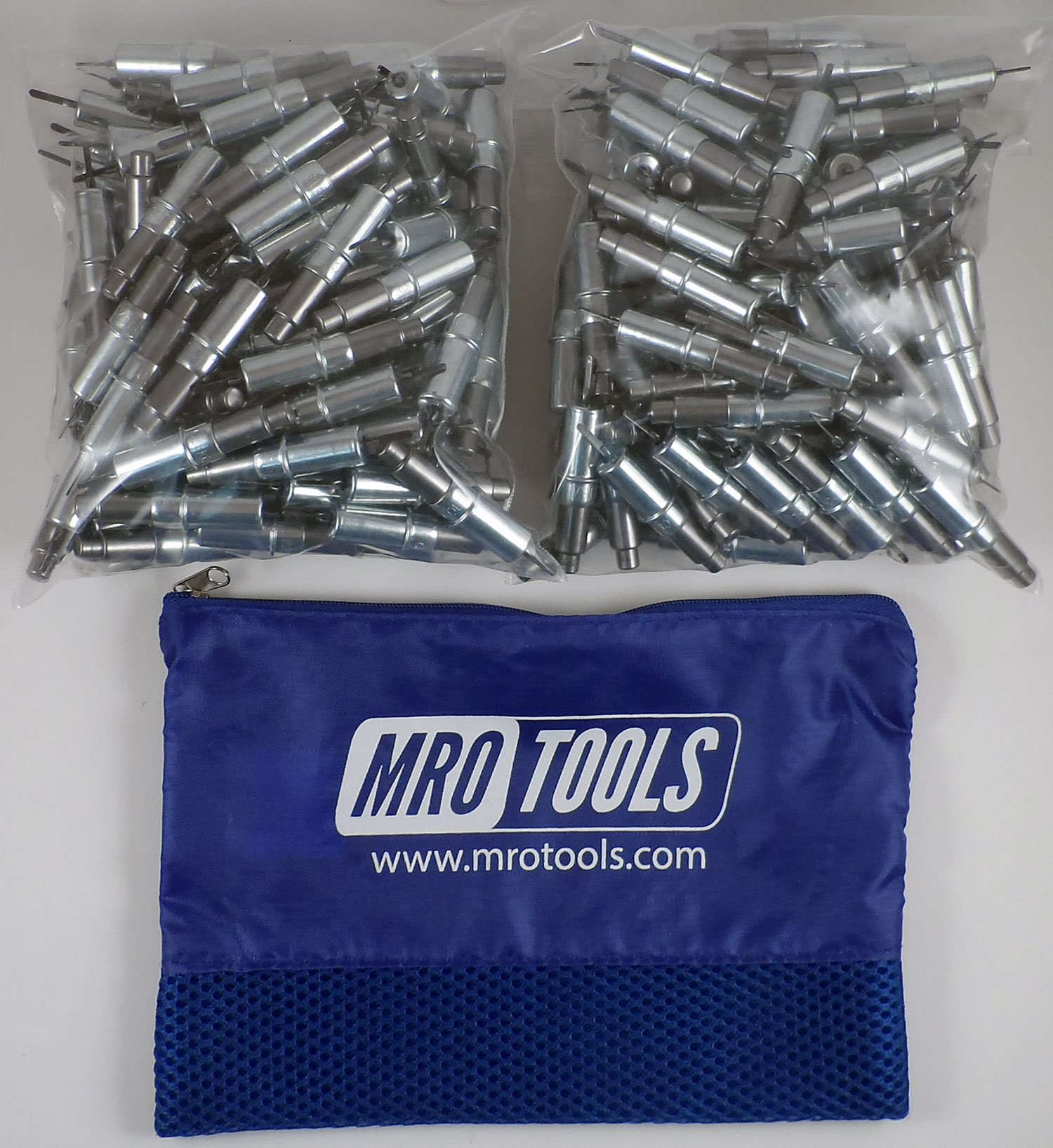 300 3/32 Heavy Duty Cleco Sheet Metal Fasteners w/ Mesh Carry Bag (KHD2S300-3/32) by MRO Tools Cleco Fasteners
