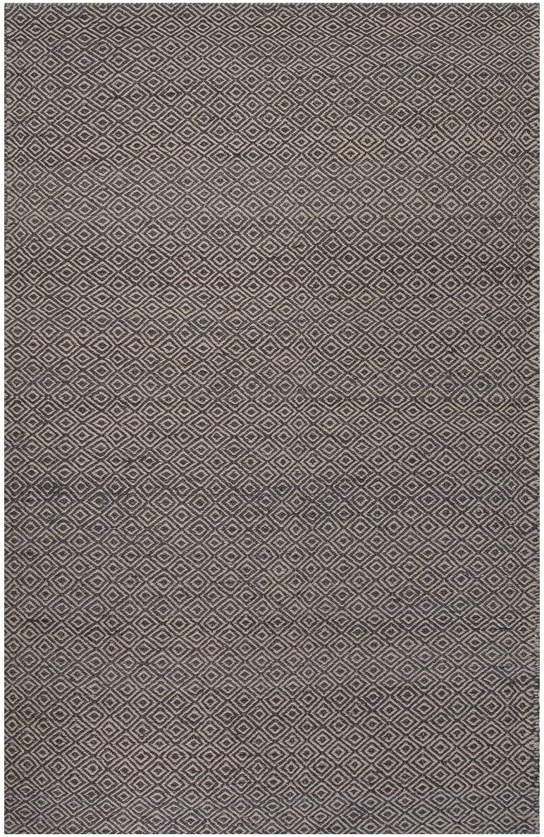 Jaipur Living Wales Natural Fiber Tribal Gray Silver Area Rug 8 X 10