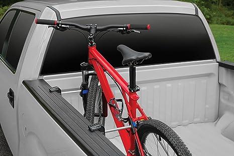 2Pcs Bicycle Fork Wheel Alloy QR Mounts For Pickup Truck Bed Mount Rack Carrier