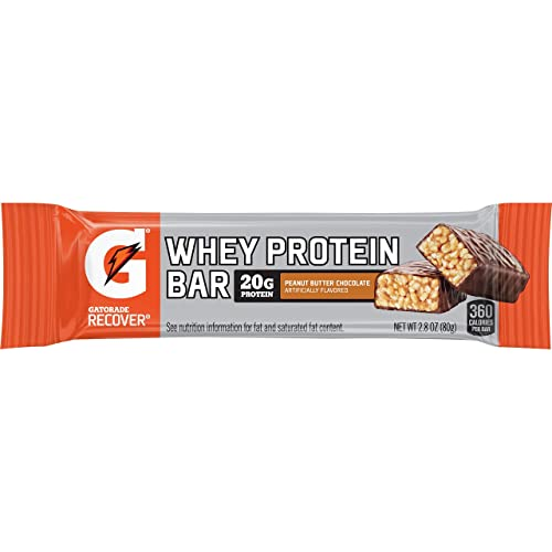 Gatorade Whey Protein Recover Bar, Chocolate Peanut Butter