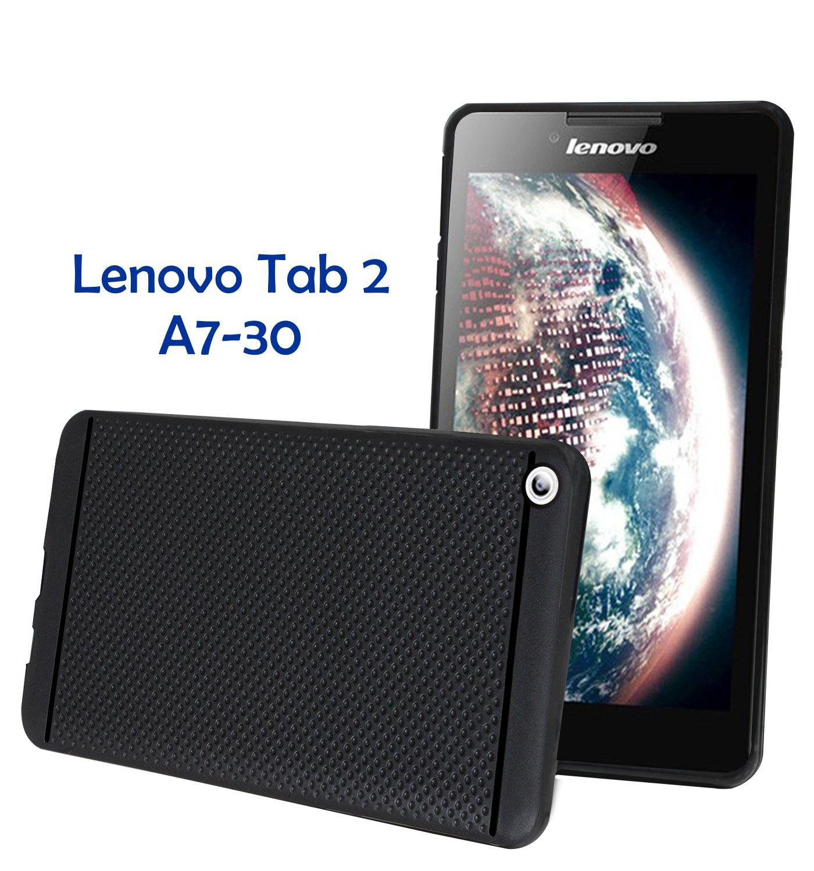 Jkobi Classic Dotted Designed Soft Rubberised Back Case Cover for Lenovo Tab 2 A7 30 Black Buy Jkobi Classic Dotted Designed Soft Rubberised Back Case