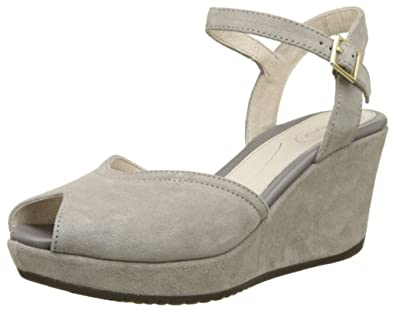 Stonefly Marlene II 1, Sandales Bout Ouvert Femme, Gris (Taupe 423), 40 EU