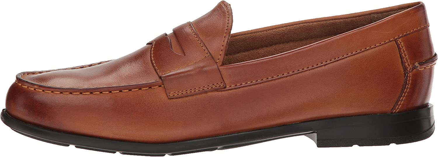 Nunn Bush Mens Drexel Penny Loafer with Kore Comfort Technology