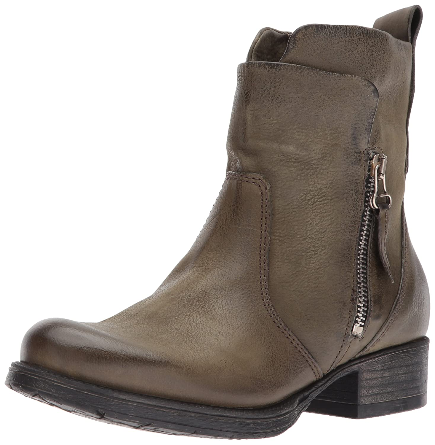 Miz Mooz Women's Nimble Ankle Boot B06XS489P1 42 M EU (10.5-11 US)|Army