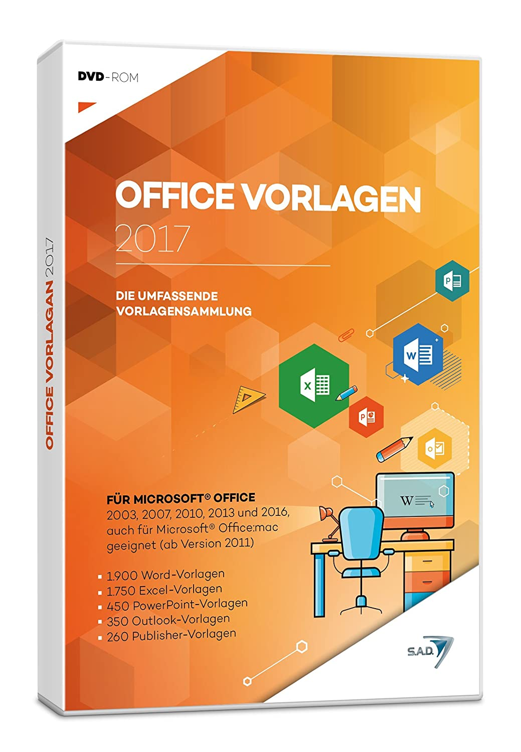 Office Vorlagen 2017: Amazon.de: Software