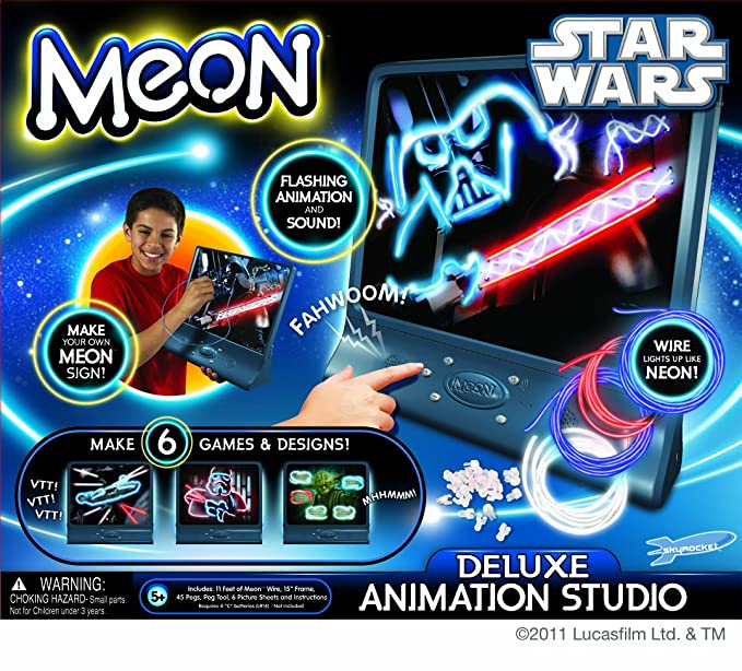 Amazon.com: Meon Star Wars - Interactive Animation Studio: Toys & Games