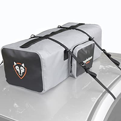 Rightline Gear 100D90 Car Top Duffle Bag, Gray, 100% Waterproof, Transport Cargo On or In Your Vehicle: Automotive