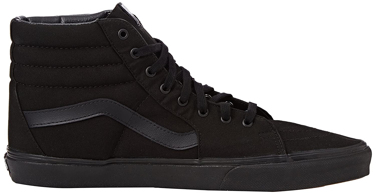 Vans Men's Sk8-Hi(Tm) Core Classics B00T82DZSA 9 7.5 M US Women / 7.5 9 M US Men|Black/Black 535027
