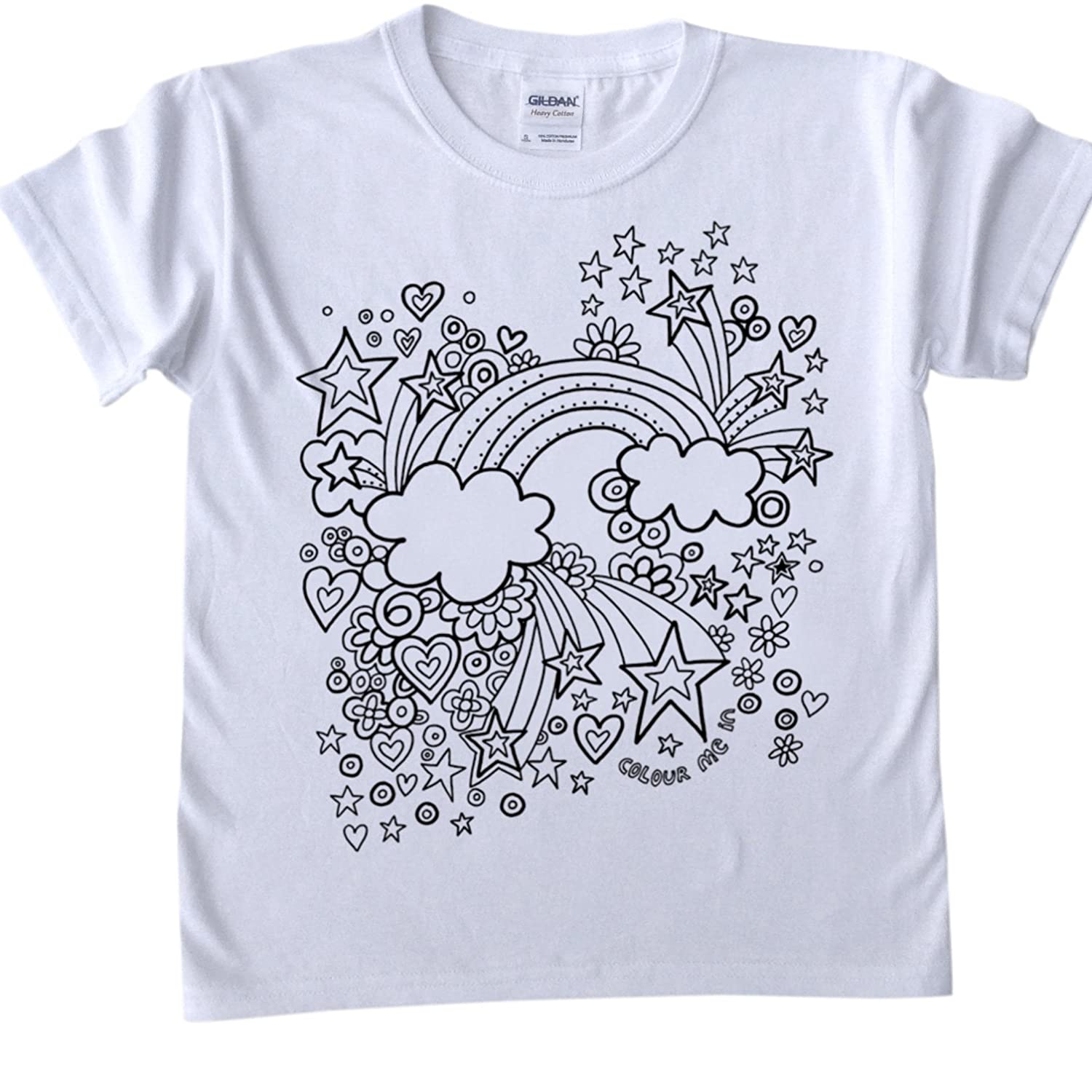 Italy Outline Pink Kids T-Shirt